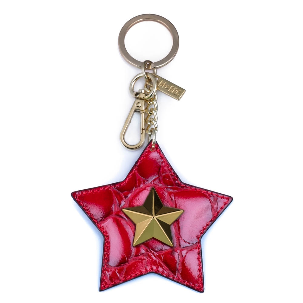 Leather keychain NC01-PC001