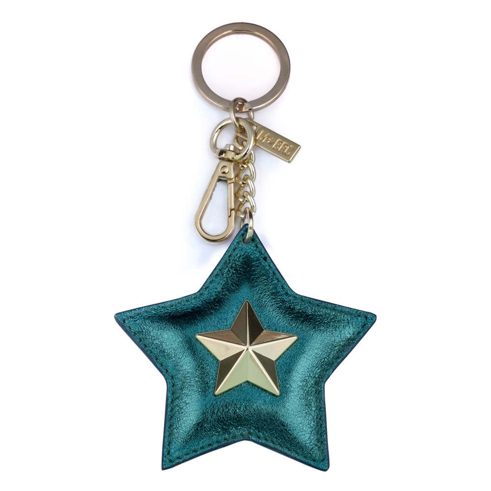 Leather keychain NC01-PC002