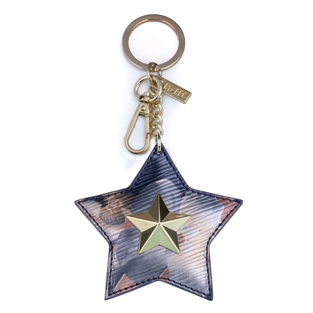 Leather keychain NC01-PC004