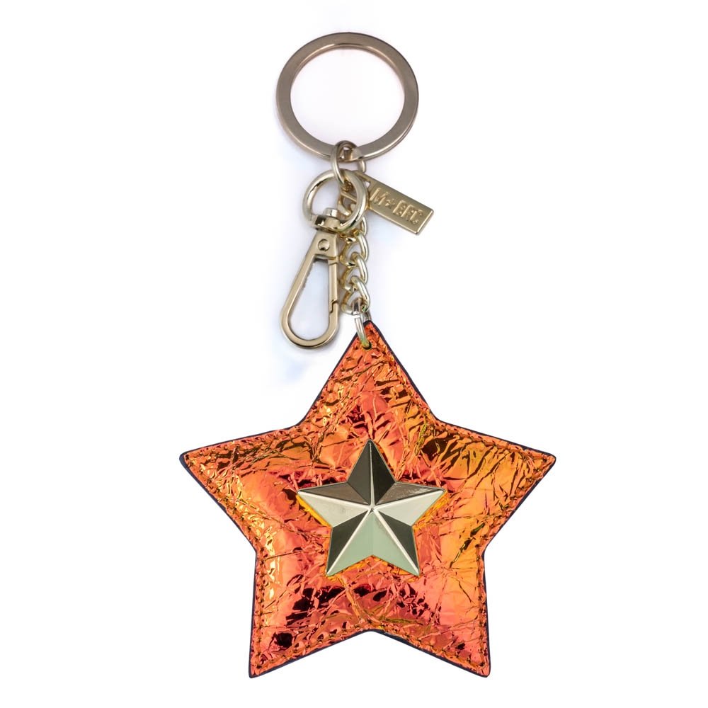 Leather keychain NC01-PC006