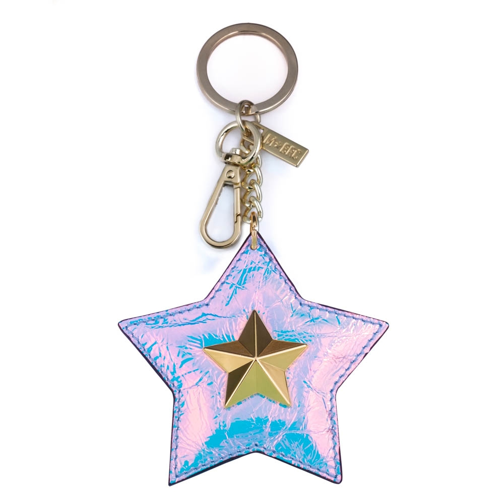 Leather keychain NC01-PC007
