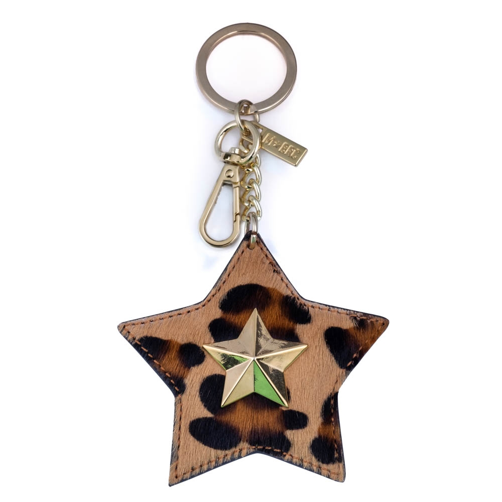 Leather keychain NC01-PC009