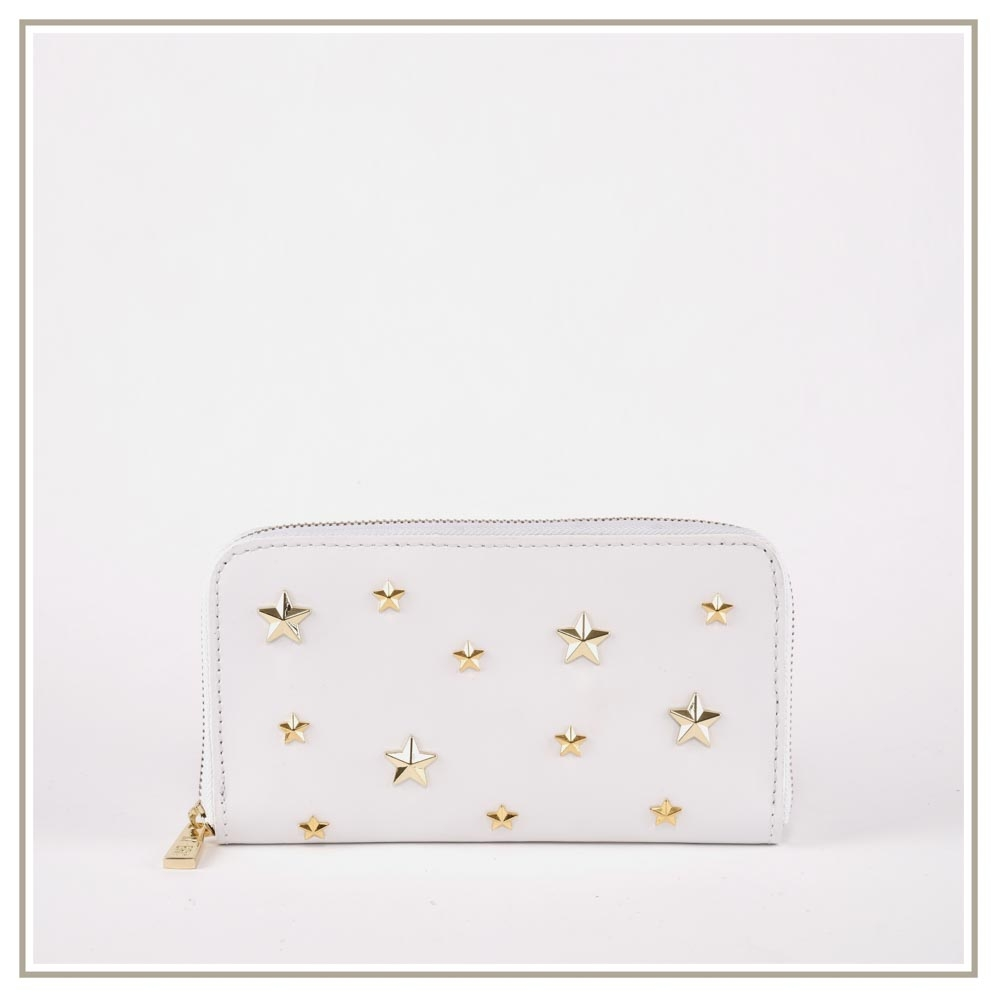 Leather Wallets S133-BIANCO