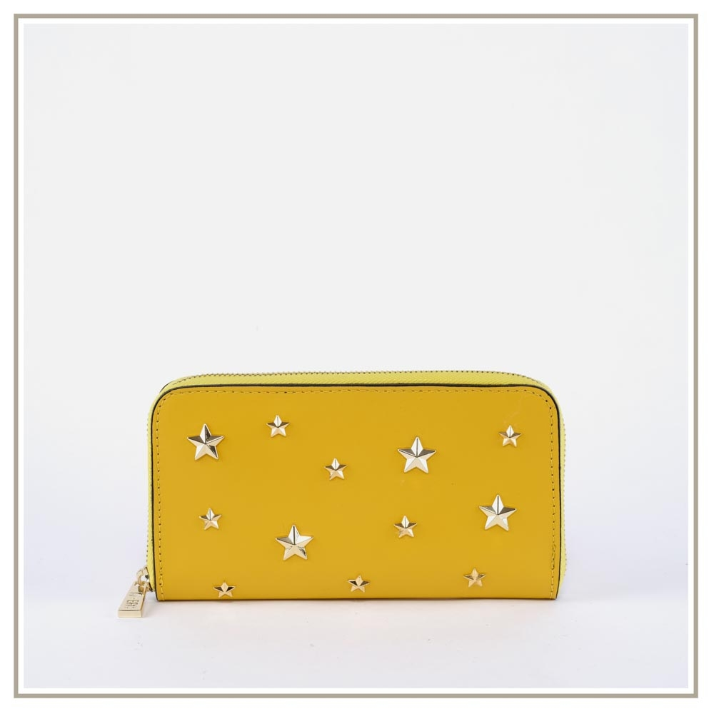Leather Wallets S133-GIALLO
