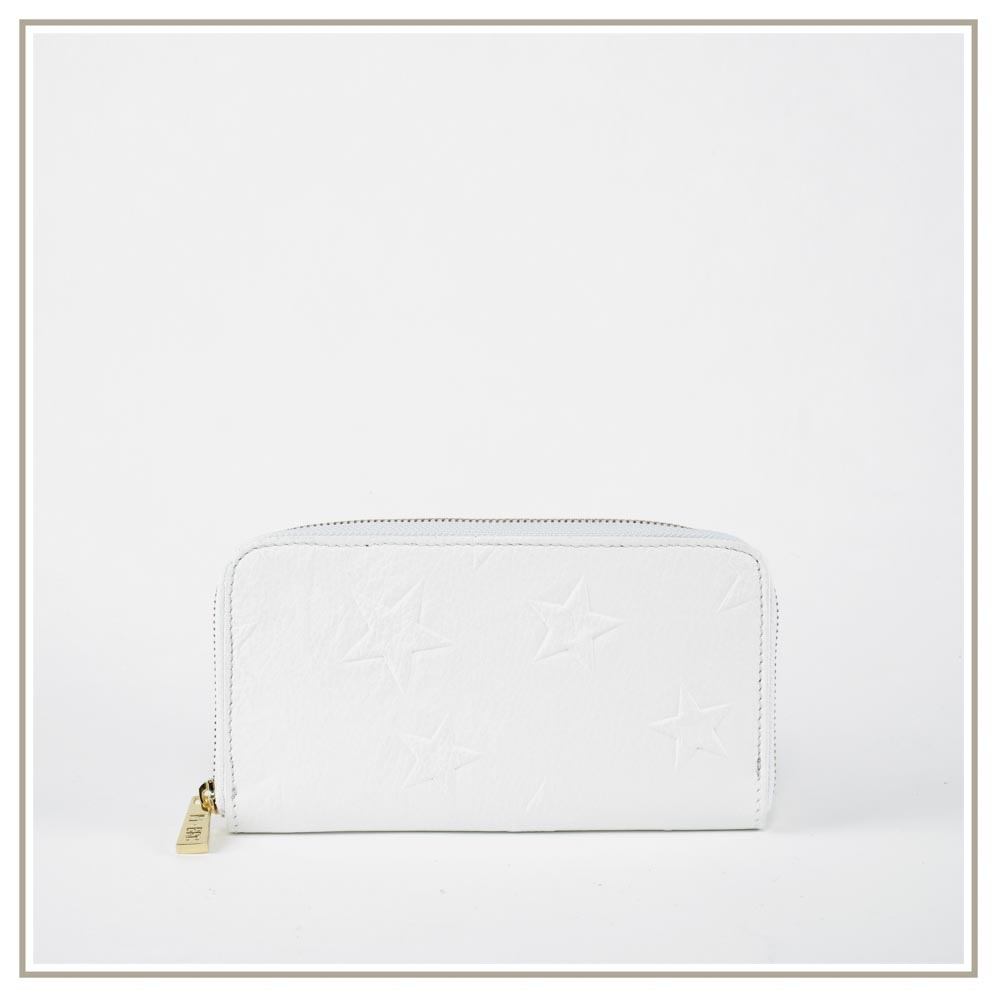 Leather Wallets S171-BIANCO